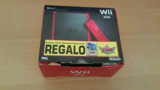 Vendo Wii Mini Roja En Perfecto Estado De Segunda Mano Por 45  U20ac En Madrid En Wallapop