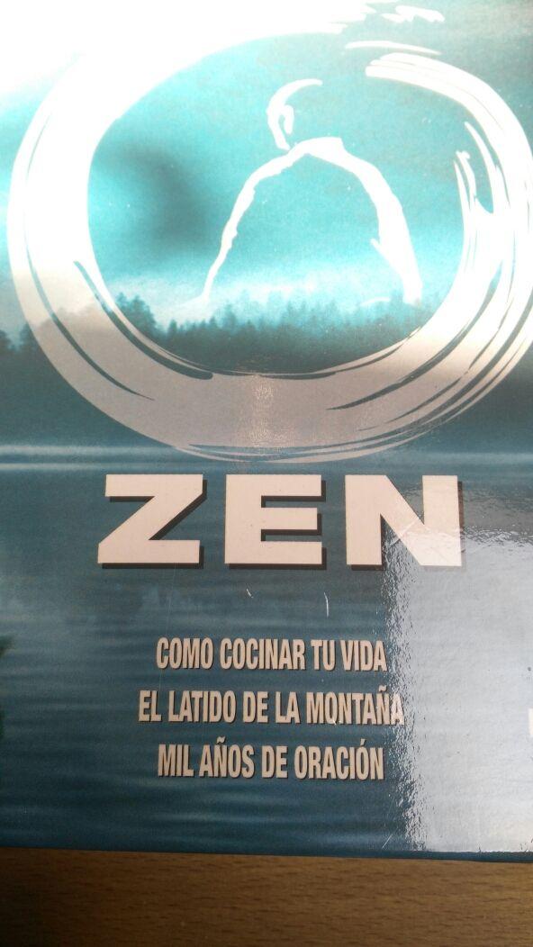 Lote 3 DVDs peliculas temática ZEN