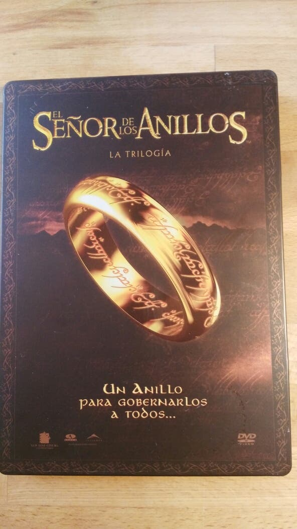 TRILOGÍA EL SEÑOR DE LOS ANILLOS DVD ED. COLECCIONISTA