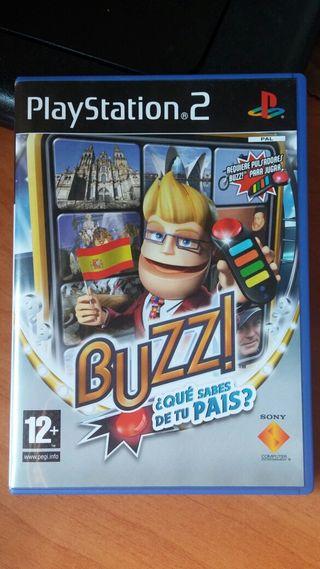Juego buzz playStation 2