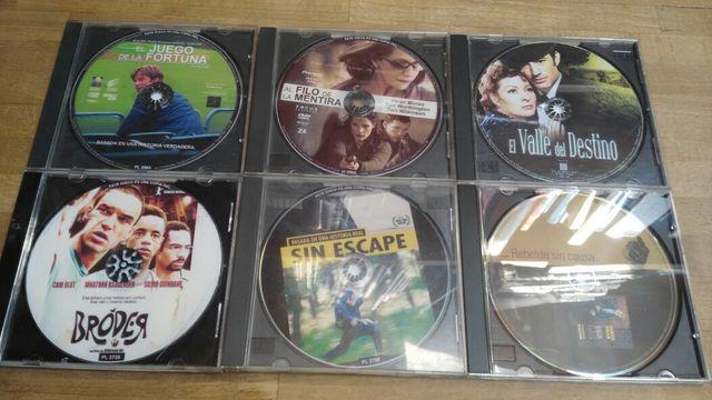 Lote de 6 películas DVD