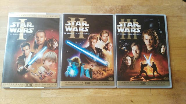 STAR WARS. LA SAGA COMPLETA 6 DVD