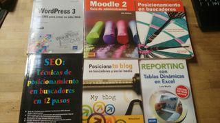 9 LIBROS DE INFORMATICA Y DISEÑI WEB