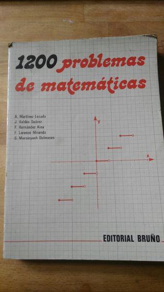 1200 problemas de matemáticas