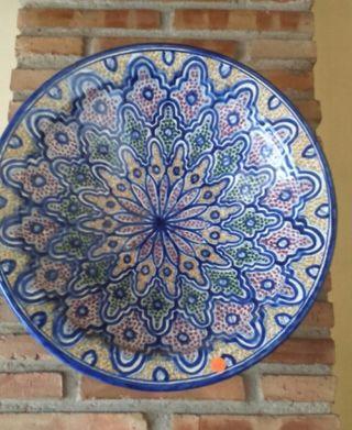 Plato cerámica árabe