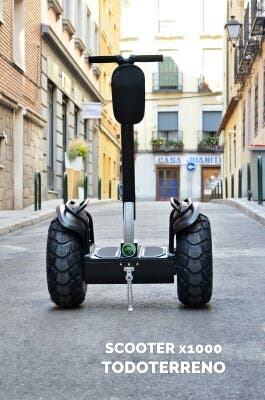 SCOOTER ELECTRICA TODOTERRENO PATÍN HOVERBOARD