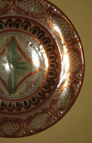 Plato cerámica valenciana