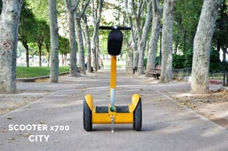 SCOOTER ELÉCTRICA CITY HOVERBOARD PATÍN