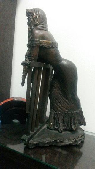 Escultura original bronce Manel Vidal