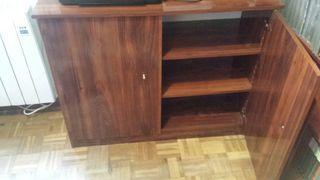 Mueble archivador de madera oferta de segunda mano por - Mueble archivador ikea ...