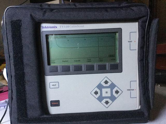Ec 243 Metro Para Cable Coaxial Tektronix Tv110 Cablescout De