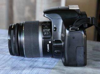 Canon EOS 450D + Objetivo + Bolsa transporte