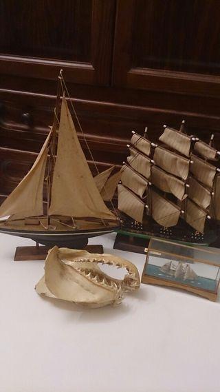 Conjunto maquetas náuticas