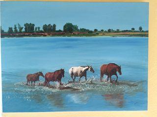Pintura al óleo. Lienzo 61x46 cm