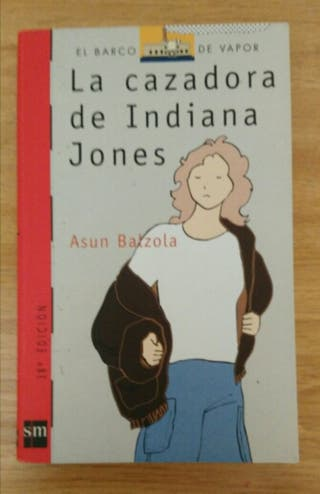 """Libro: """" La cazadora de Indiana Jones """"."""