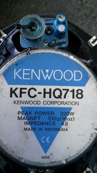 Altavoces 7x10 kenwood