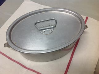 Fiambrera De Aluminio Vintage