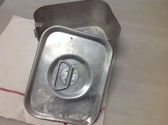 Fiambrera Aluminio Vintage