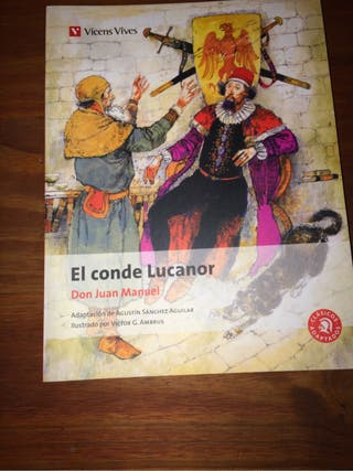 Libro : El conde lucanor Editorial :Vicens Vives