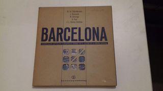 Libro de urbanismo de Barcelona.