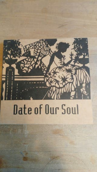 LIBRO CON POSTALES; DATE OF OUR SOUL
