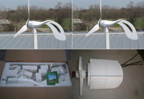 Aerogenerador bajo Arranque turbina molino