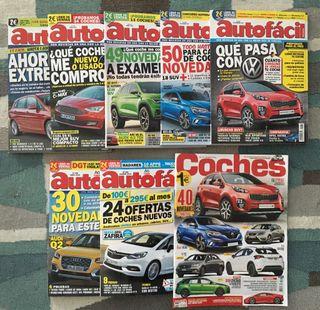 Revistas autofacil y coches