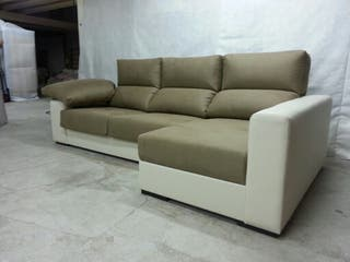 Sofá Extraíble, Reclinable, Arcon, Pouf
