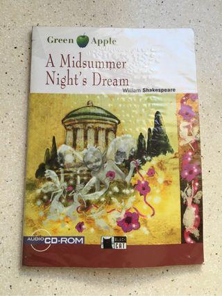 """Vendo Libro En Inglés """"A Midsummer Night's Dream"""" de Shakespeare"""
