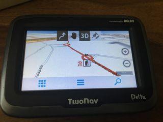 Navegador TwoNav Delta offroad y onroad