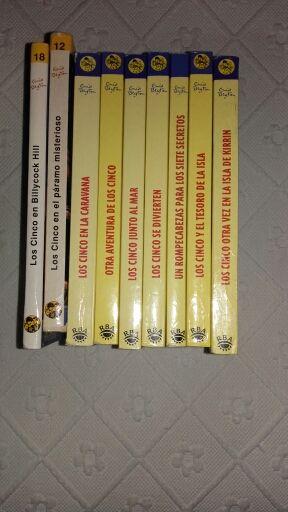 Libros de lo cinco