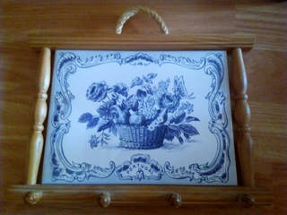 Cuelga llaves azulejo portugués