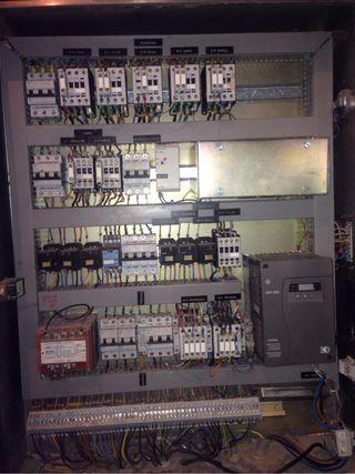 Panel electrico Grua Saez.