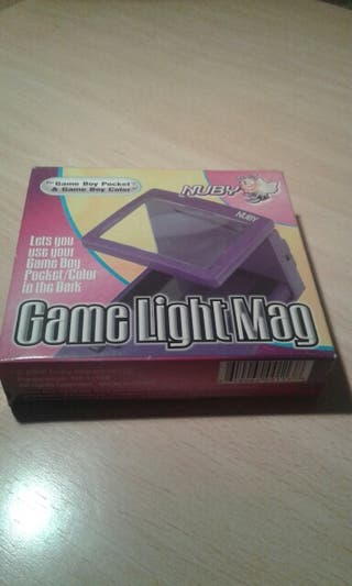 Game light, luz para game boy