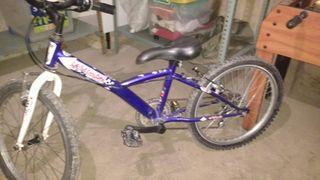 Bicicleta montaña Decathlon 20 pulgadas