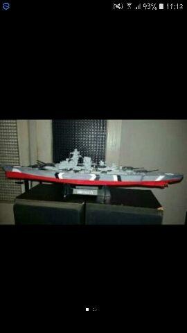 Maqueta barco Bismarck