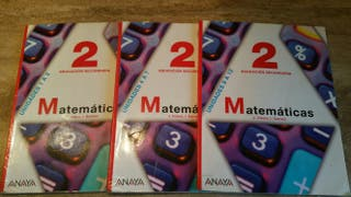 Matemáticas 2º de la ESO
