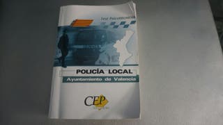 Libro test psicotecnico policia local valencia