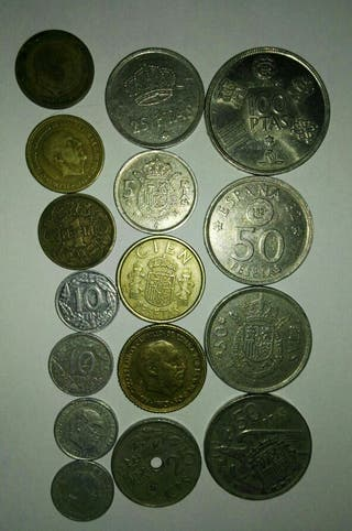 Monedas pesetas