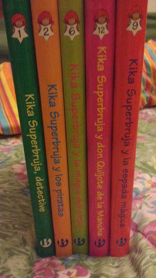 Lote libros Kika super bruja