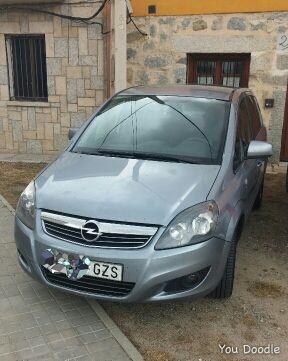 Opel Zafira 1.9Cdti 120cv 7plazas