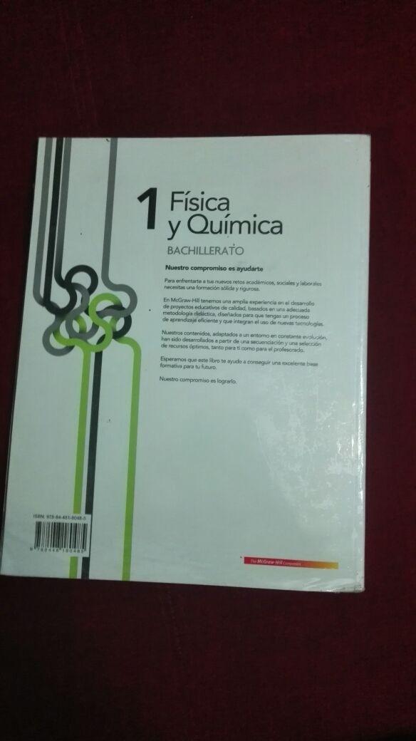 LIBRO FÍSICA Y QUÍMICA 1° BTO