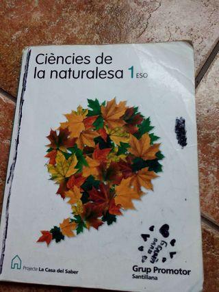 ESO I ciencies de la naturalesa