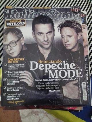 Revista Rolling Stone. Depeche mode