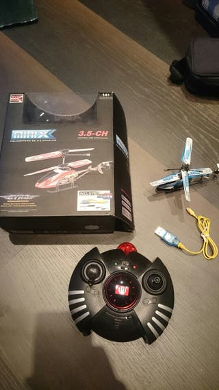 Helicoptero miniX