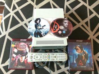 Hd Dvd con 4 peliculas