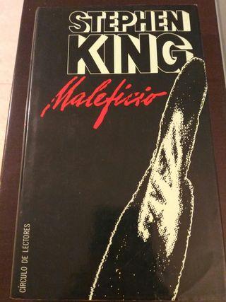 Libro maleficio de stephen king tapa dura