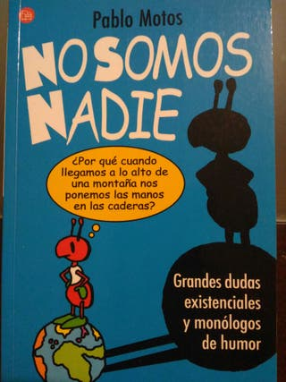 Libro no somos nadie