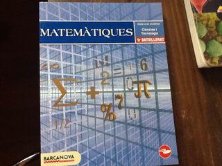 Libro Matematicas Primero Bachillerato Cientifico