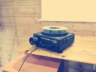 Proyector De Diapositivas Kodak Carousel S Av 1050 De